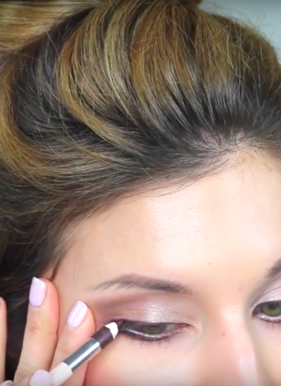 Simple (Subtle) Winged Eyeliner made EASY